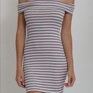 Dresses & Skirts - NWT Striped Mini Dress like Fashion Nova